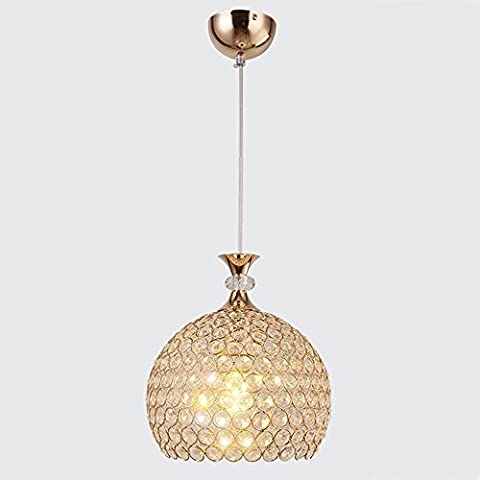 Modern Simple Glass LED Single Head Pendant Light,Ceiling Light for Restaurant,Bedroom,Balcony,Aisle,Voltage 240V , Small