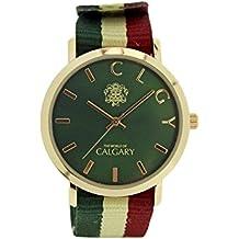 Relojes Calgary New Mazzini colección Peace & Love. Reloj vintage para mujer, correa de