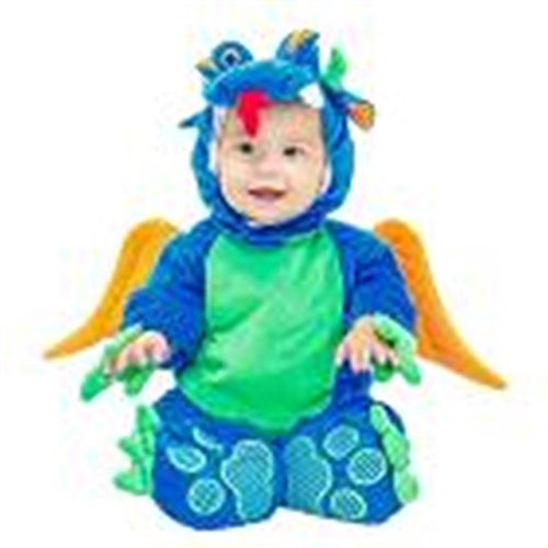 DBHAWKinEU Halloween Baby Tier Kostüm mit Kapuze Bodysuit Footies Strampler Outfit 41 (Lustige Halloween Ideen Kostüme Kleinkind)