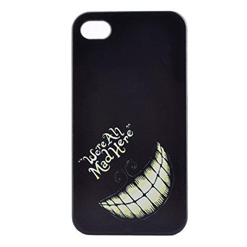 MOONCASE Etui pour iPhone 4G / 4S Hard House Case Coque Cover Étui Shell Mi10 Mi09 #1122