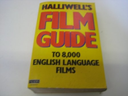 Halliwell's film guide, seventh edition: leslie halliwell.