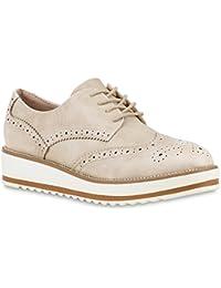 Stiefelparadies - Zapatos de vestir brogues Mujer