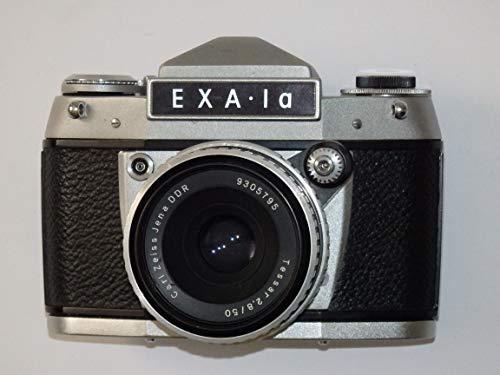 piegelreflexkamera - EXA 1A 1 A von IHAGEE aus Dresden Made IN GDR mit Objektiv Carl Zeiss JENA DDR Tessar 2,8/50 * Kamera ungeprüft - ()
