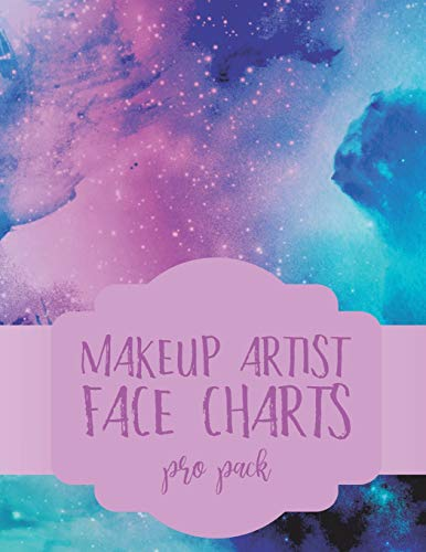 Makeup Artist Face Charts: Pro Pack (Face Charts for Makeup Artists, Band 9)