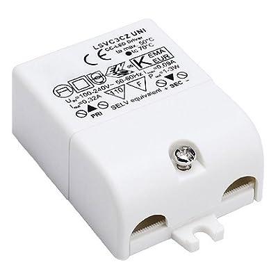 SLV LED Treiber 3 W, 350 mA, inklusiv Zugentlastung 464108 von SLV bei Lampenhans.de