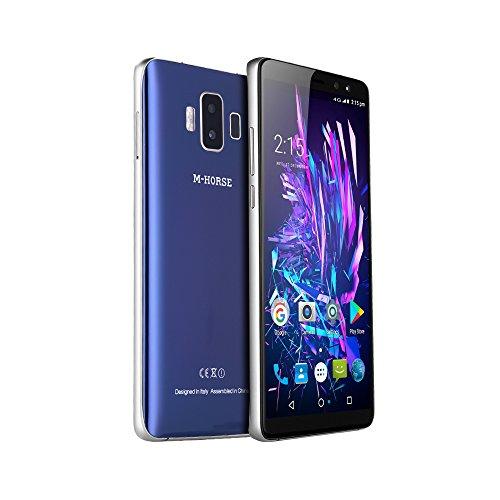 "M-HORSE Pure 1 5.7"" 18:9 Pantalla completa Cámara frontal doble Cámara trasera doble ROM 32GB RAM Memoria de 3GB 4380mAh Sensor de huellas digitales Android 7.0 4G Smartphone Teléfono móvil Bluetooth 5.0 Teléfono celular"