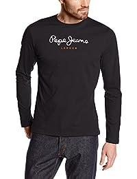 Pepe Jeans Eggo - T-shirt - Uni - Manches longues - Homme