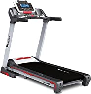 PowerMax Fitness TAC-400 (6.0HP Peak) Semi-Commercial AC Motorized Treadmill With Free Virtual Assistance, Blu