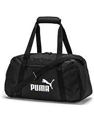 Puma Phase Sports, Borsone Unisex-Adulto, Nero Black, Taglia Unica
