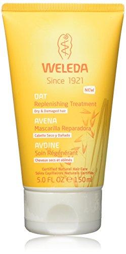 WELEDA Haar Hafer Aufbaukur (1 x 150 ml) - kräftigt, nährt und schützt, Haarkur