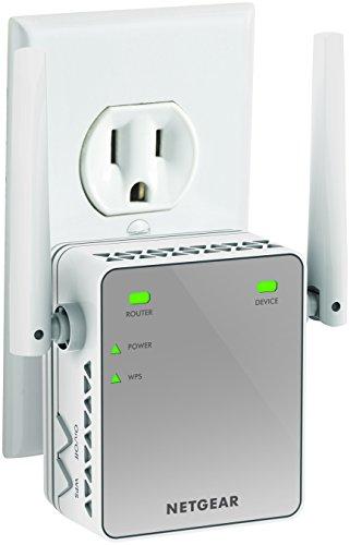 Netgear EX2700 N300 Wi-Fi Range Extender (White)