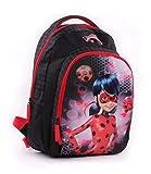 Vadobag Backpack Miraculous Tales of Ladybug Mochila Infantil 44 Centimeters Negro (Black, Red)