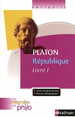 Intégrales de Philo - PLATON, République (Livre I)