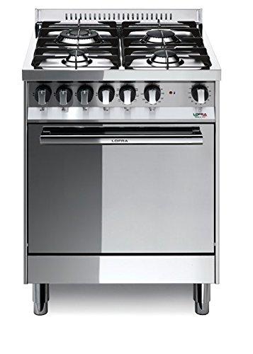 Lofra M66GV/C Cucina a Gas, Acciaio