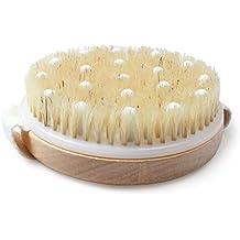 ewinever(R) exfoliante cepillo de ducha para celulitis masajeador mejorar el drenaje linfático eliminación
