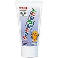 Nenedent Kinderzahncreme ohne Fluorid, 50 ml, 4er Pack (4 x 0.05 l)