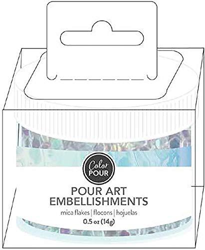 American Crafts Color Pour Mica Flakes .5oz- -