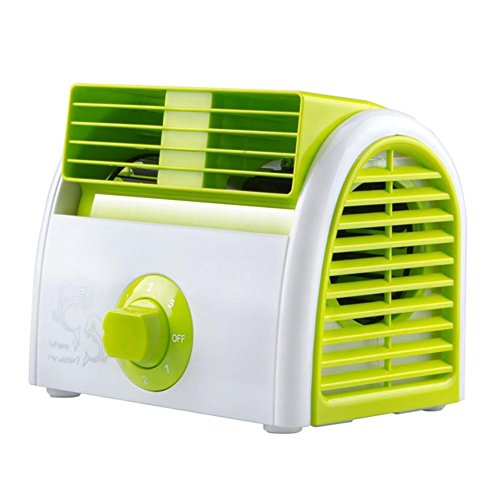 Mini ventilatore desktop muto desktop piccolo dormitorio ventilatore gale forza frigorifero lama 3 ingranaggi Twin turbos ABS grano 30w , 5
