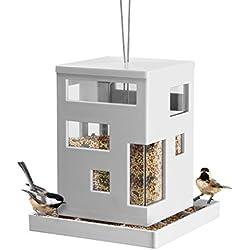 Umbra 480290-660 Mangeoire Oiseau Café Blanc