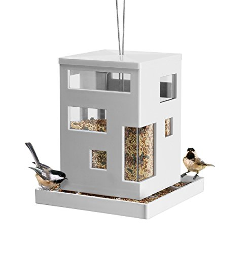 Umbra 480290-660 Bird Cafe Feeder, weiß