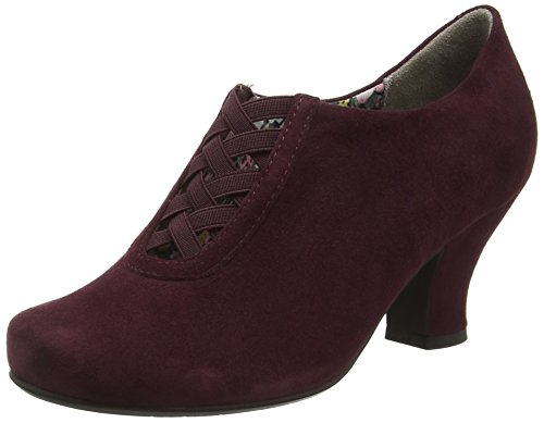 HotterStephanie - Scarpe con Tacco donna Rosso (Red (Maroon))