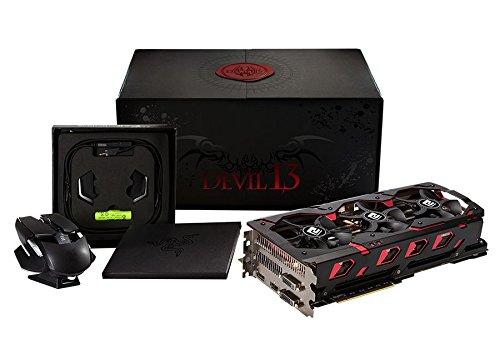 PowerColor AXR9 290XII 8GBD5 Radeon R9 Grafikkarte (PCI-e, 8GB DDR5 Speicher, DVI, HDMI, DisplayPort)