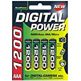 AccuPower Micro AAA Pack NiMH-accu AP1200 4pcs, 1200mAh