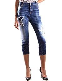 fec10602f1f46 Dsquared2 Femme S75LB0036S30342470 Bleu Coton Jeans