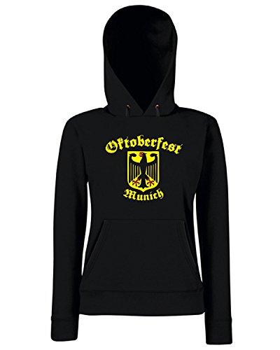T-Shirtshock - Sweats a capuche Femme TSTEM0196 oktoberfest munich Noir