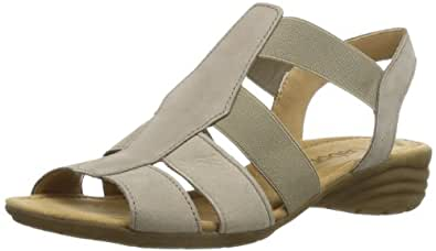Gabor Shoes Gabor 84.553.12 Damen Sandalen, Grau (visone), EU 44 (UK 9.5) (US 12)