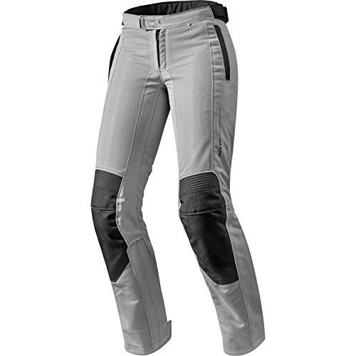 Rev it AIRWAVE 2Mesdames Pantalon de moto Argent - argent