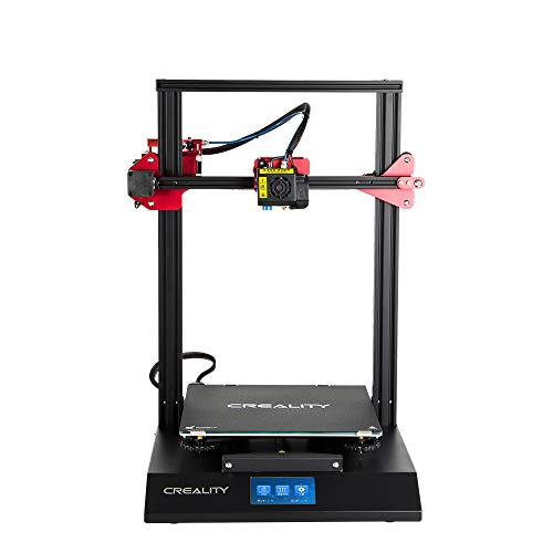 Comgrow Creality 3D CR-10S Pro 3D Printer with Auto-Leveling and Touch Screen, Capricorn PTFE and Bondtech Extruder Gears, Build Size 300mmx300mmx400mm -