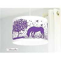 Lampenschirm - Pferde - 35 cm - Wunschfarbe und Größe auf Anfrage