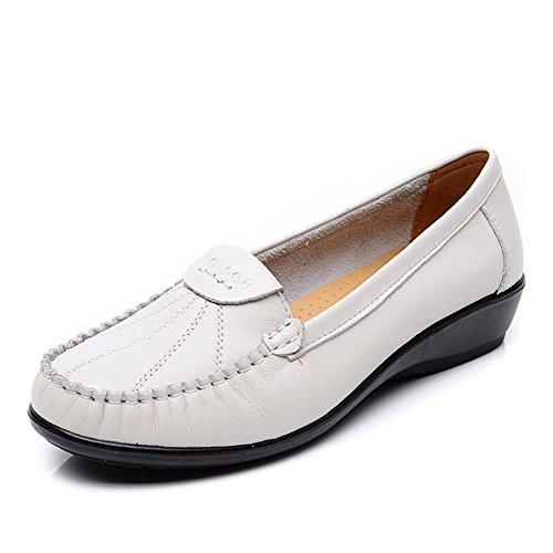 chaussures asakuchi mère/Au milieu en bas doux et de vieilles femmes âgées pointure/Chaussures à talon plat D