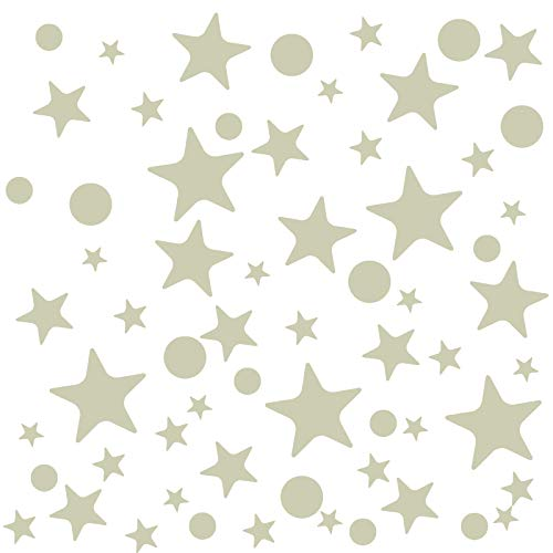 Stickers Per Bambini.Naler Glow In Dark Star Dot Stickers 442pcs Luminous Wall Stickers Decals For Diy Kids Babies Bedroom Celing Home Party Decoration