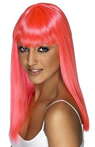 Smiffy's - Parrucca per travestimento donna, capelli