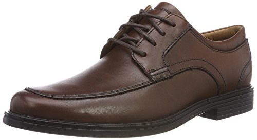 Clarks Herren Un Aldric Park Derbys, Braun (Tan Leather-), 47 EU