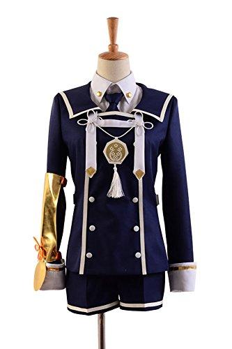 Touken Ranbu Gokotai Uniform Cosplay Kostüm Herren Dunkelblau XXXL (Gokotai Kostüm)