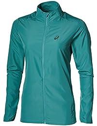 Asics - Jacket, color verde, talla M