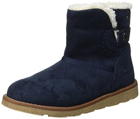 Tom Tailor Mädchen 3770203 Stiefel, Blau (Navy), 37 EU