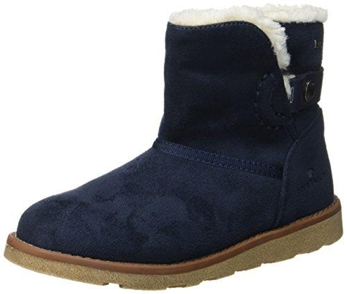 Boots Blau Mädchen (Tom Tailor Mädchen 3770203 Stiefel, Blau (Navy), 34)