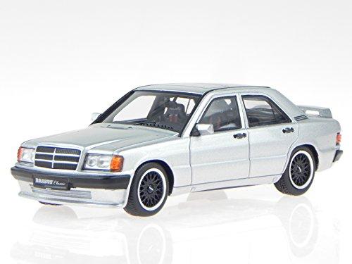 mercedes-w201-brabus-190e-36s-1989-silber-modellauto-minichamps-143