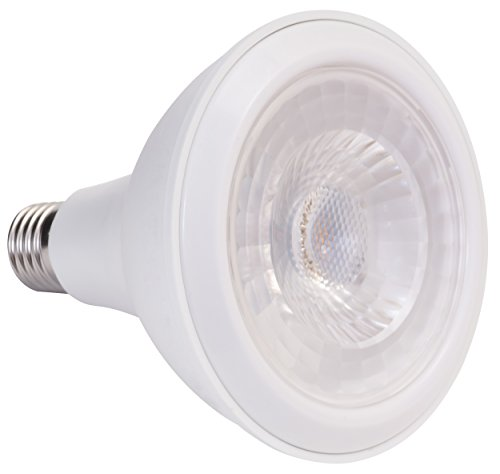 A, LED Reflektorlampe PAR38 ersetzt 75 W, Plastik, 15.0 W, E27, weiß, 13.2 x 12.0 x 12.0 cm ()