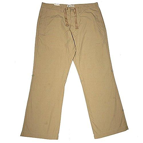 Gabardine Gerades Bein Hose (Dockers, ,Herren Jeans Hose, Gabardine, beige, W 33 L 32 [7490])