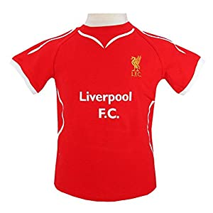 Official Liverpool FC Baby Shirt And Short Set (9-12 Months) by ONTRAD Limited