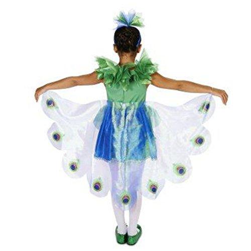 Dreamweavers süßer Pfau Mädchen Kinder Fasching Halloween Karneval -
