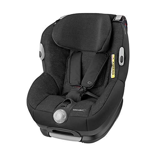 Siège Auto Évolutif de Groupe 0+/1 Bébé Confort Opal, Siège Auto Réglable Dos à la Route, de 0 à 4 ans, 0-18kg, Nomad Black