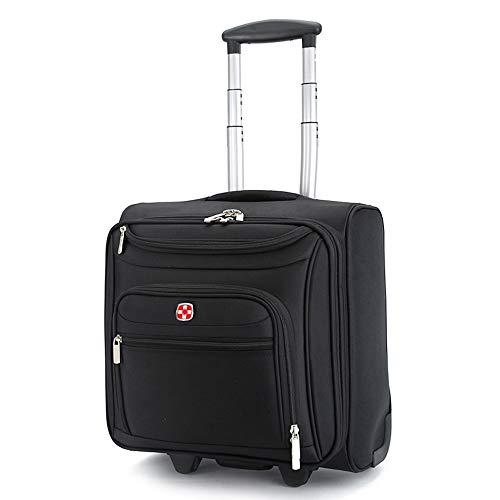 CX TECH Spinner Luggage Mobile Office Laptoptasche Leichte Boarding-Trolley-Tasche Rolling Tote Handgepäck für den mobilen Office-Koffer -