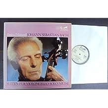 Suiten für Violoncello solo Nr. 1 - 6 BWV 1007 - 1012. Enrico Mainardi . Stereo