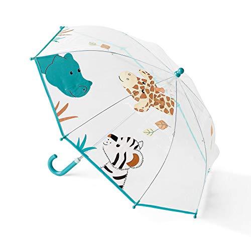 Sterntaler Regenschirm Kuschelzoo, Alter: Kinder ab 3 Jahren, Weiß/Bunt